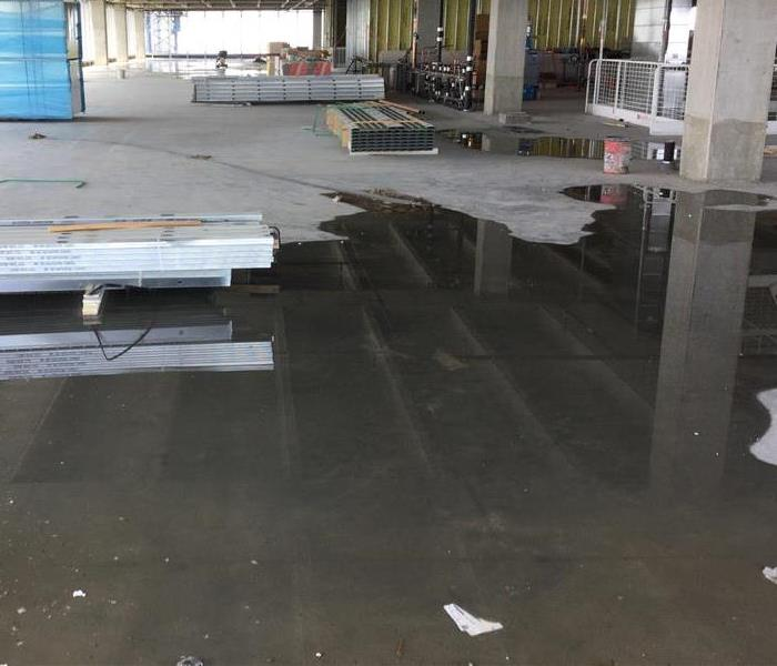 Commercial Water Damage in Dallas, Texas After Storm