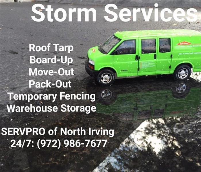 List of SERVPRO Storm Damage Services in Dallas