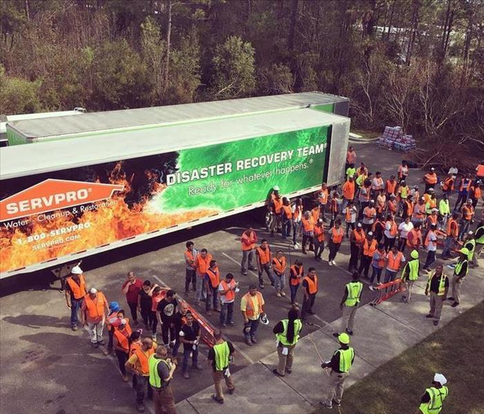 SERVPRO Dallas Franchise Disaster Recovery Team