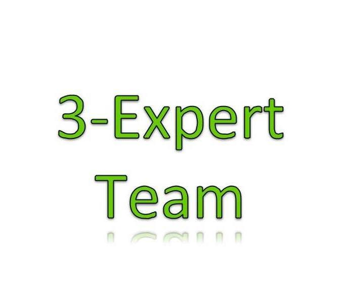 General SERVPRO of North Irving's Full Service 3-Expert Team