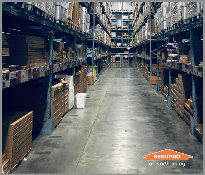 warehouse cleaning in Dallas